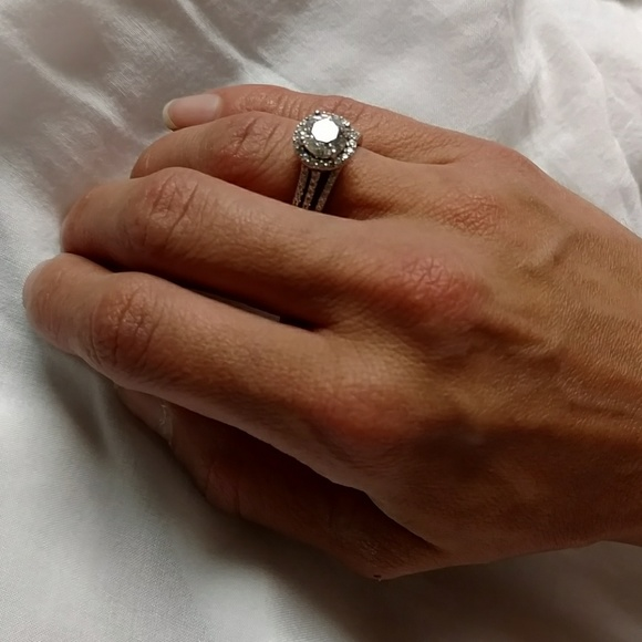 7435c6423 Swarovski zirconia wedding set. M_5b889e87fe5151383fc22f4d
